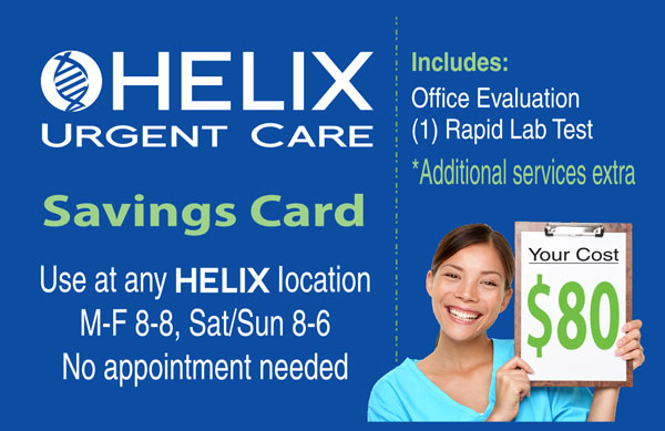 Helix Discount Card
