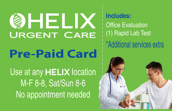 Helix Pre-Paid Card